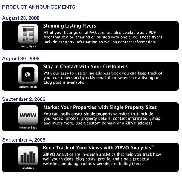Zipvo Platinum Products
