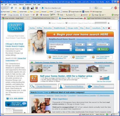Dreamtown Homepage