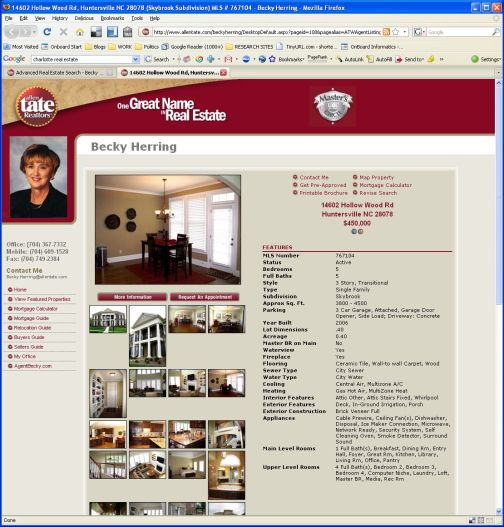 Typical Real Estate Listing, Circa 2009